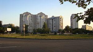 Desnianskyi District, Kiev - Image: Volhogradska Square in Kiev