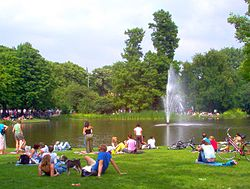 Vondelpark On A Sunny Day Amsterdam Holland enhanced.jpg
