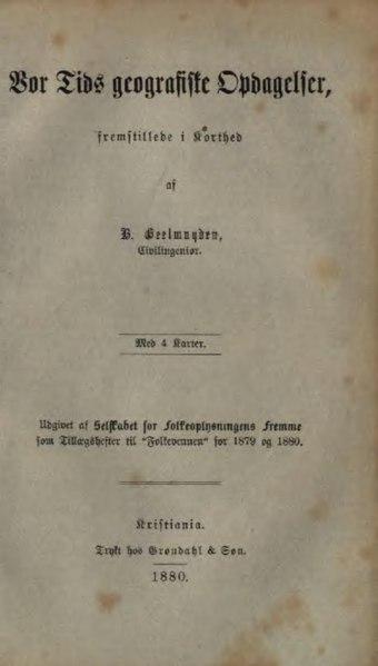 File:Vor Tids geografiske Opdagelser.djvu