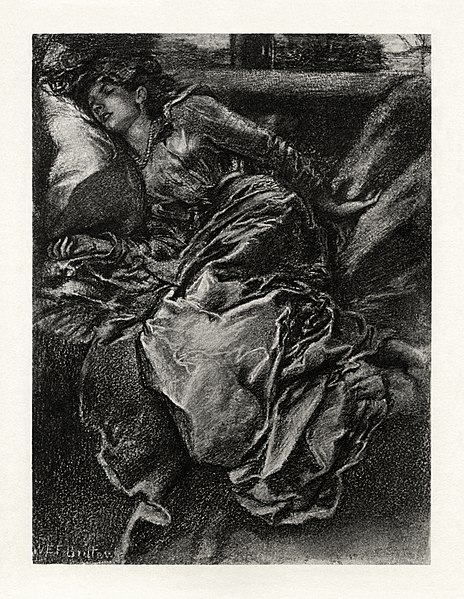 File:W.E.F. Britten - The Early Poems of Alfred, Lord Tennyson - Sleeping Beauty.jpg