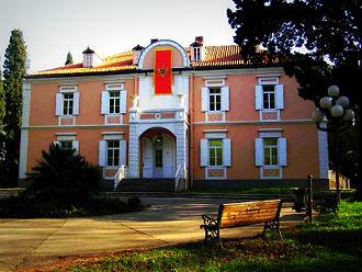 Prince Mirko of Montenegro - Prince Mirko's former palace in Podgorica, today an art gallery
