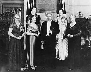 "<i>Edwards v Canada (AG)</i> 1929 court case which declared the word ""person"" in the Constitution of Canada includes women"