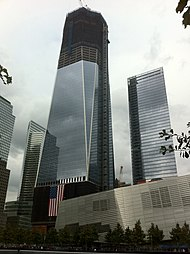 Construction Of One World Trade Center Wikipedia