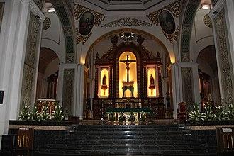 Naga Cathedral - Image: WT Naga HMMM B19e