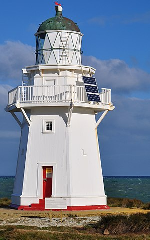 Waipapa Point Lighthouse - Waipapa Point Lighthouse