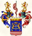 Wappen der Grafen von Keglevich de Buzin 1687 und 1708.png