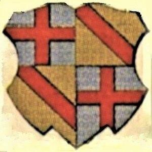Otto III of Hachberg - Image: Wappentafel Bischöfe Konstanz 46 Otto von Hachberg