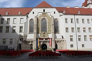 St. Georges Cathedral, Wiener Neustadt Church in Wiener Neustadt, Austria