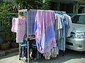 Wardrobe on the street for drying laundry - Thailand.JPG