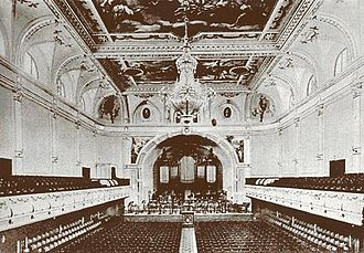 National Philharmonic in Warsaw - Image: Warsaw Philharmonic interior