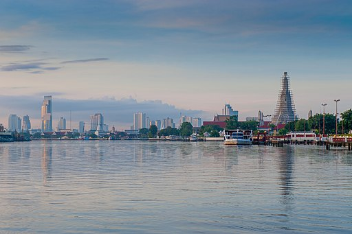 Wat Arun across Chao Phraya River
