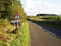 Watchout for Nutkin on the B7000^ - geograph.org.uk - 553971.jpg