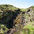 Waterfall on the Allt Airigh Meall Beathaig - geograph.org.uk - 458531.jpg