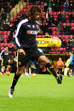 Nathan Aké - Aké during his loan spell at Watford