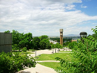 Ogden, Utah - Weber State University's main campus in Ogden