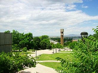 Ogden, Utah - Weber State University's main campus in Ogden