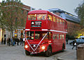 Wedding bus in St.Paul's Churchyard, 20 November 2010.jpg