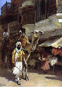 Weeks Edwin Lord Man Leading a Camel.jpg