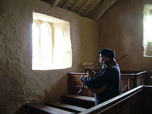 Welsh bagpipes - Welsh Bagpipe (single-reed type) made by John Glennydd