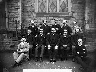 Wesleyan Bible class, Llanfair Caereinion