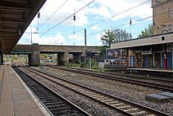 Westbourne Road Bridge, Lancaster railway station (geograph 4499703).jpg