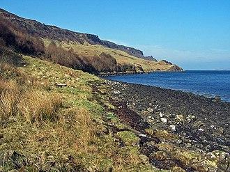 Waternish - Western shore of Loch Bay