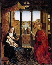Rogier van der Weyden: Saint Luke Drawing the Virgin