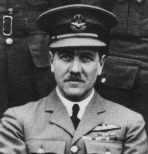 Jack Baldwin (RAF officer) - Wing Commander Baldwin as Commandant of the Central Flying School c.1929