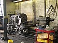 Wheel lathe, Boston Lodge works, Ffestiniog Railway - geograph.org.uk - 926589.jpg