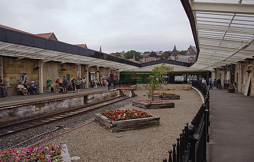 Whitby railway station MMB 02