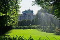 Wien - Volksgarten - View SSE on Neue Hofburg III.jpg