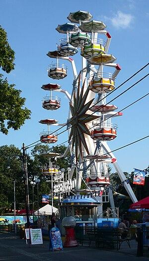 Bohemian Prater - Ferris wheel