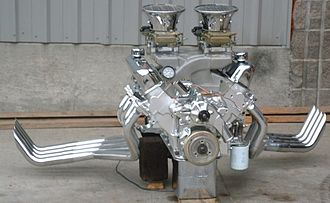 Ford FE engine - Flopper Funny Car FE