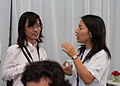 Wikimania 2009 - Chatting (8).jpg