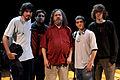 Wikimania 2009 - Richard Stallman en el teatro Alvear con asistentes (14).jpg