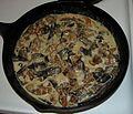 Wild Mushroom Dinner, Scaberstalks ^ Hedgehogs in Cream Sauce - Flickr - treegrow.jpg
