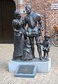 Willem van Oranje en Anna van Buren en Filips en Maria Lia Krol en Caroline van 't Hoff Markt Buren.jpg