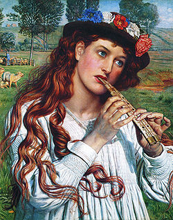 HUNT William Holman Amaryllis 1884