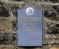 William McGonagall plaque, Edinburgh, Scotland-20March2010.jpg