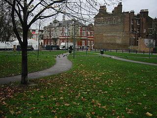 Windrush Square square in Brixton, London