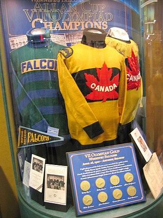 Winnipeg Falcons - Winnipeg Falcons original sweater and jersey.