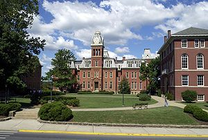West Virginia University - Woodburn Hall is one of the oldest buildings at West Virginia University and has long been a symbol of the university.