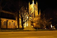 Worcester Cathedral at night.jpg