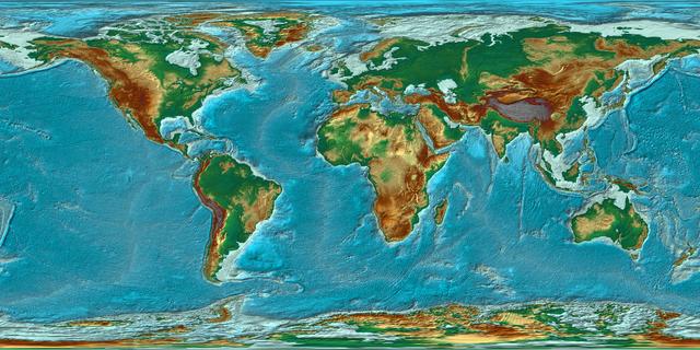 Panorama der Erde