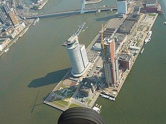 Montevideo (Rotterdam) - Image: World Port Center Rotterdam