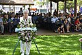 Wreath presentation at the USS Parche Park and Submarine Memorial 150525-N-DB801-254.jpg