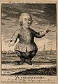 Wybrant Lolkes, a dwarf. Engraving by C.F. Fritsch. Wellcome V0007172.jpg