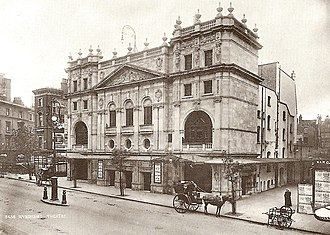 Wyndham's Theatre - Wyndham's Theatre just before its opening on 16 November 1900.