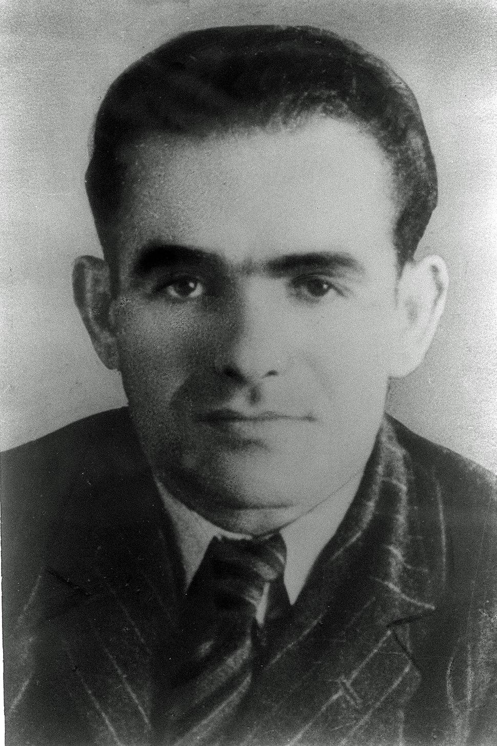 YITZHAK SHAMIR. פורטרט, יצחק שמיר.