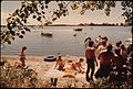 YOUNG PEOPLE OF NEW ULM, MINNESOTA, SPENDING A SUNDAY SWIMMING AND BOATING AT CLEAR LAKE THREE MILES WEST OF TOWN.... - NARA - 558233.jpg